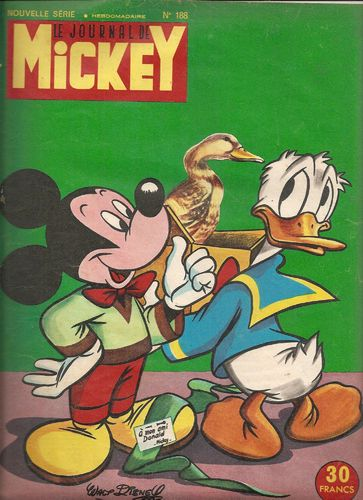 BD le journal de Mickey n°188-1955