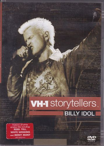 DVD Billy idol VH61 storytellers