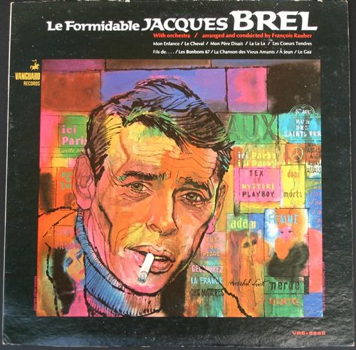 VINYL33T jacques brel le formidable import usa 1967 BIEM