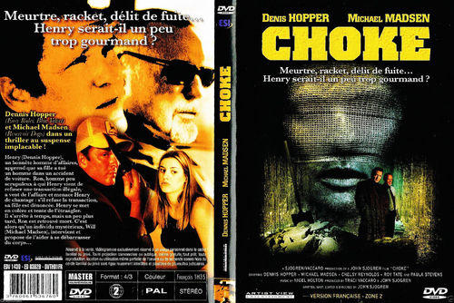 DVD choke Denis Hopper Thriller 2001