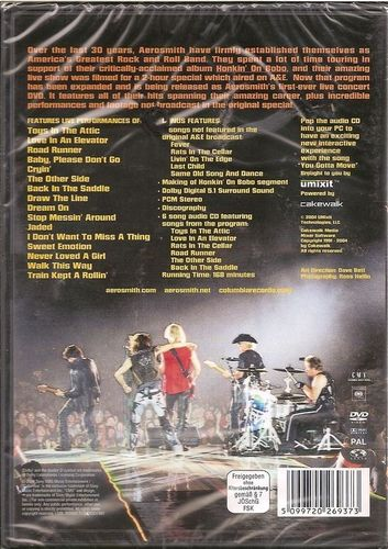 DVD aerosmith you gotta movie 2004