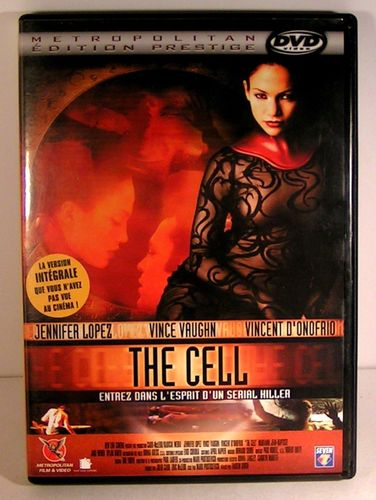 DVD the cell jennifer lopez 2000
