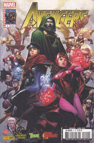 BD the avengers N° 4   marvel   2012