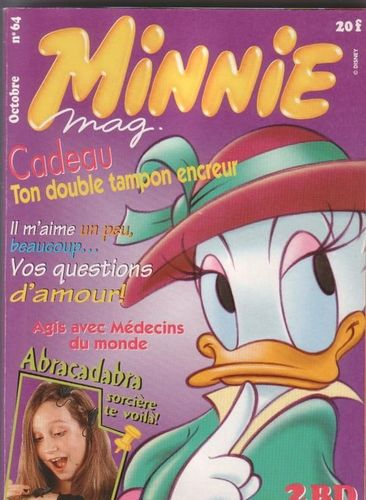 BD Minnie mag n°64 2000