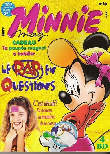 BD Minnie mag n°69 2001
