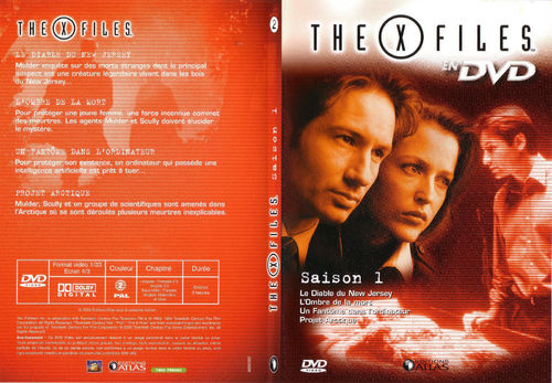 DVD the x files saison 1 vol 2 2004