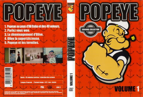 DVD popeye n 1 original collection