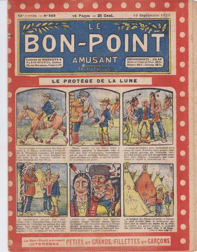 BD hebdomadaire le bon point N° 563 1923