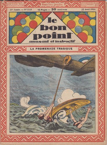 BD hebdomadaire le bon point N° 1115 1934