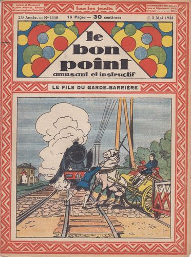 BD hebdomadaire le bon point N° 1118 1934