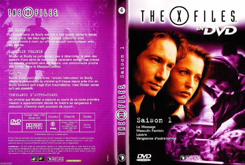DVD the x files saison 1 vol 4 série tv de science fiction 2000