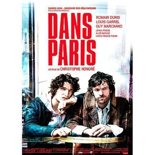 DVD dans Paris Christophe Honoré 2006