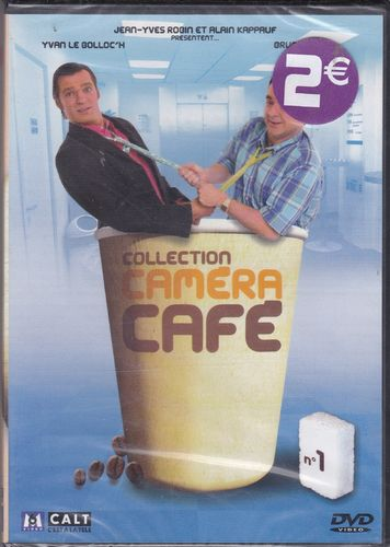 DVD collection caméra café n 1 Jean-Yves Robin 2001