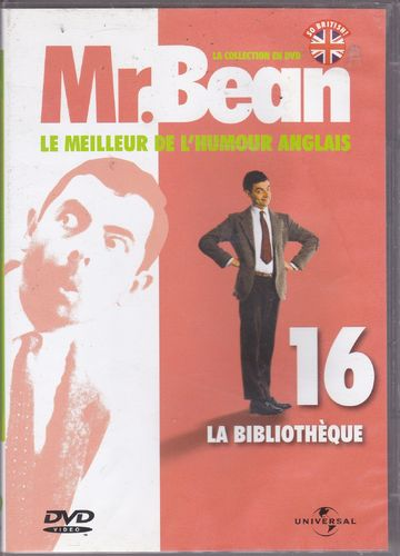DVD Mr Bean n 16 la bibliothèque 2007
