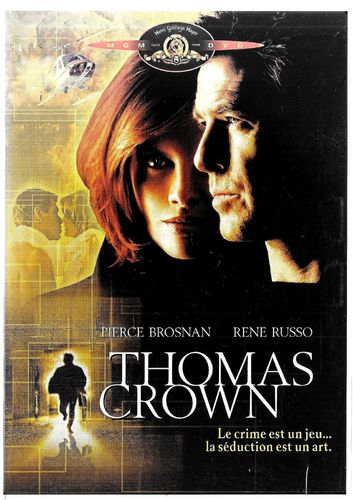 DVD thomas crown John Mctiernan 2000