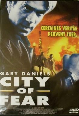 DVD city of fear gary daniels Mark Roper 1999