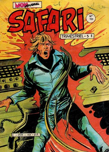 BD safari N° 151 flash spécial 1983