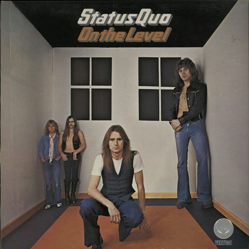 VINYL 33 T status quo on the level 1974