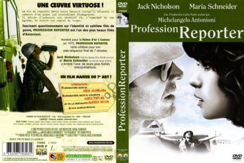 DVD profession reporter Michelangelo Antonioni 1975