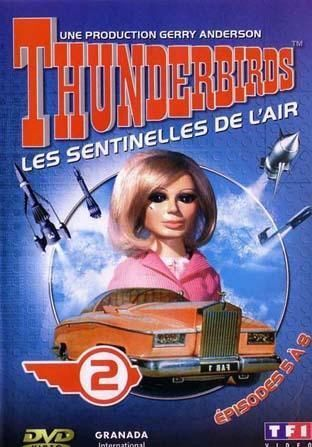 DVD thunderbirds les sentinelles de l'air Vol 2 2004