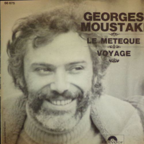 VINYL45T georges moustaki le meteque1969
