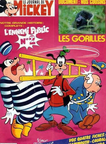 BD le journal de mickey n 1636-1983