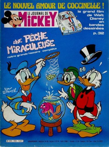BD le journal de Mickey n 1635-1983