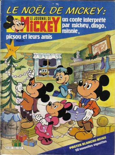 BD le journal de Mickey n 1643-1983