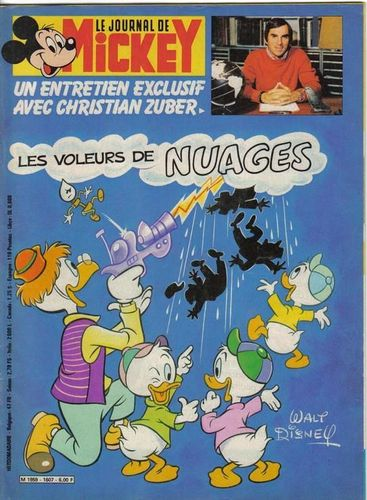 BD le journal de Mickey n°1607-1983
