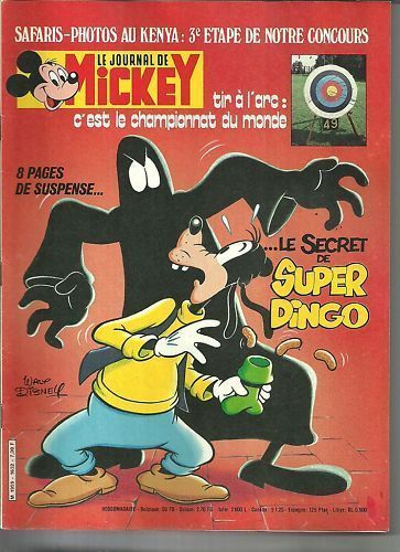 BD le journal de Mickey n°1632-1983