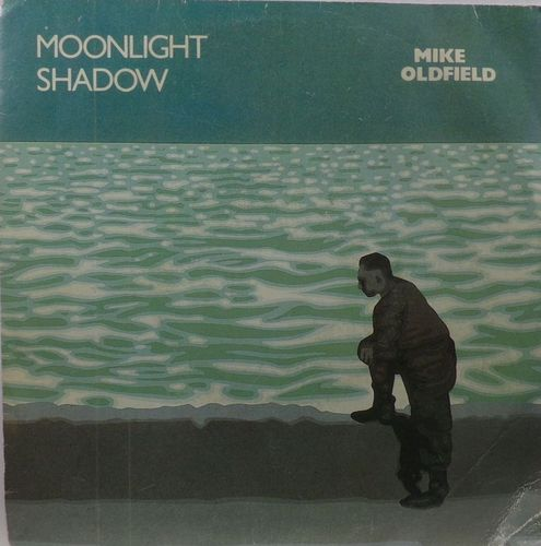 VINYL 45T mike oldfield moonlight shadow 1983