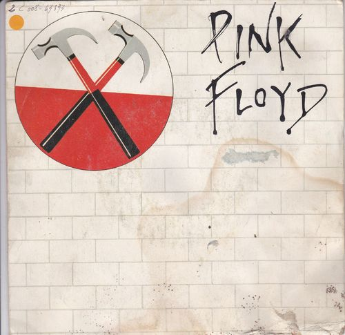 VINYL 45Tpink floyd run like hell 1979