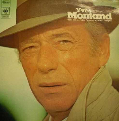 VINYL33T Yves montand one man show 1972