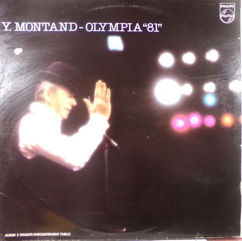 VINYL33T Yves montand olympia  1981