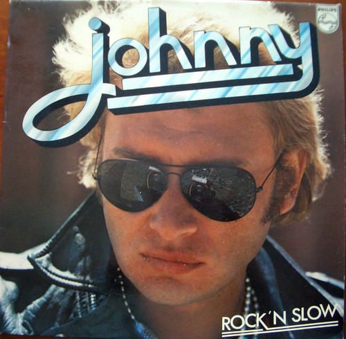 VINYL33T Johnny Hallyday rock'n'slow 1974