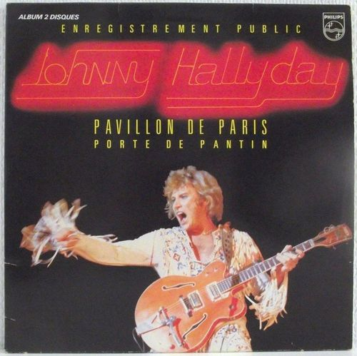 VINYL33T Johnny Hallyday pavillon de paris 1979