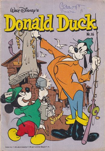 BD donald duck N°16 1980 Allemand