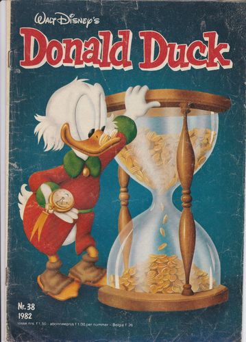 BD donald duck N°38 1982 Allemand