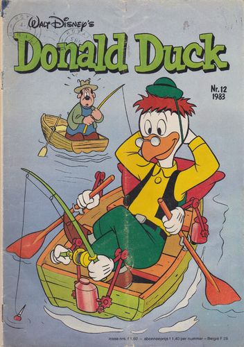 BD donald duck N°12 1983 Allemand
