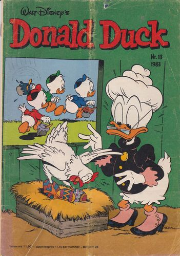 BD donald duck N°13 1983 Allemand