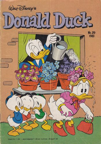 BD donald duck N°29 1983 Allemand