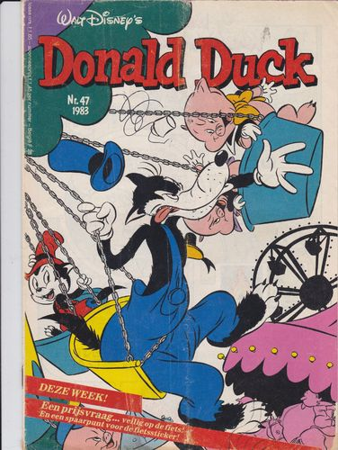 BD donald duck N°47 1983 Allemand