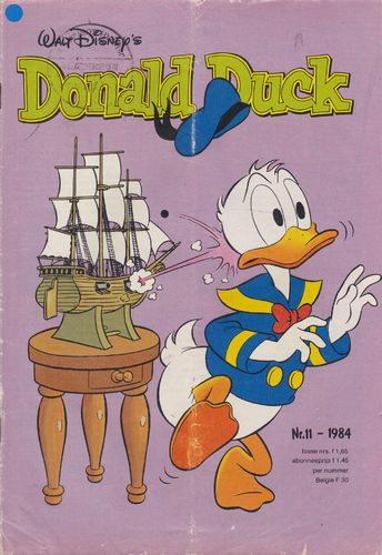 BD donald duck N°11 1984 Allemand