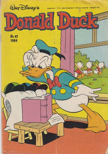 BD donald duck N°47 1984 Allemand