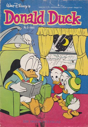 BD donald duck N°5 1985 Allemand