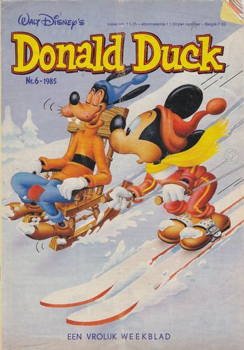 BD donald duck N°6 1985 Allemand