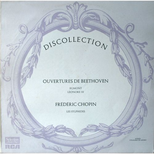 VINYL 33T discollection beethoven chopin
