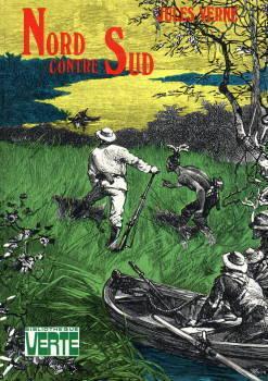 Livre Jules Verne Nord Contre Sud Bibliotheque Verte 1974