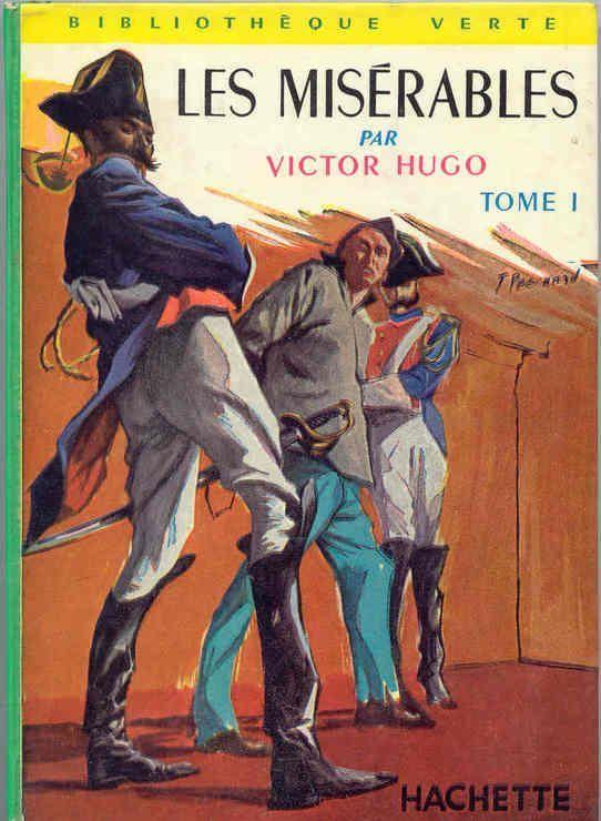 Livre Victor Hugo Les Miserables Tome 1 Bibliotheque Verte 1950