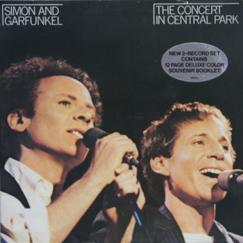 VINYL33T Simon and garfunkel the concert in central park 1981